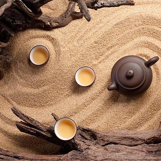微信头像风景茶具