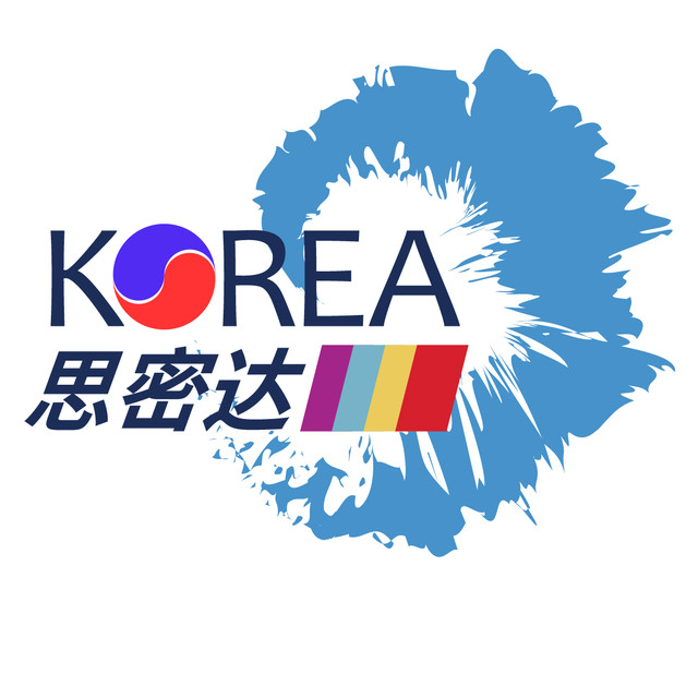 思密达美容院logo设计图片